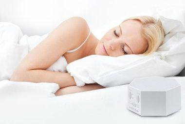 stop ear ringing with a white noise machine